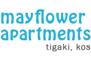 Mayflower Apartments Kos, logo